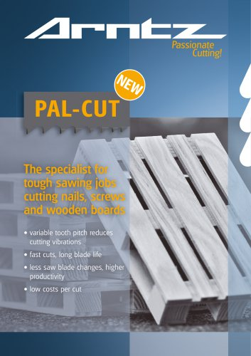The specialist for tough sawing jobs cutting nails, screws and wooden boards