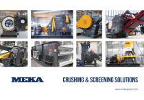 MEKA Crushing & Screening Catalogue