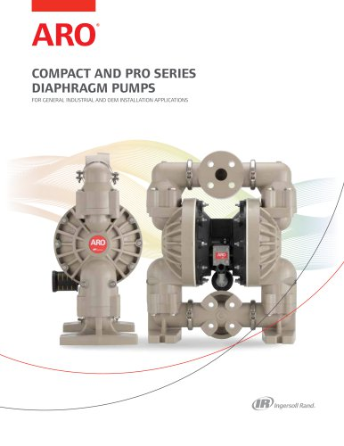 COMPACT AND PRO SERIES ARO DIAPHRAGM PUMPS