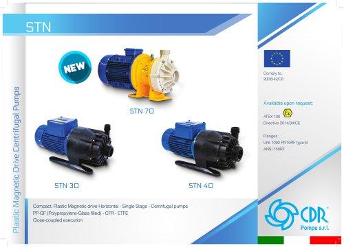 STN - Plastic Magnetic Drive Pump