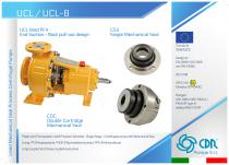 UCL / UCL-B - Lined Mechanical Seal Pump