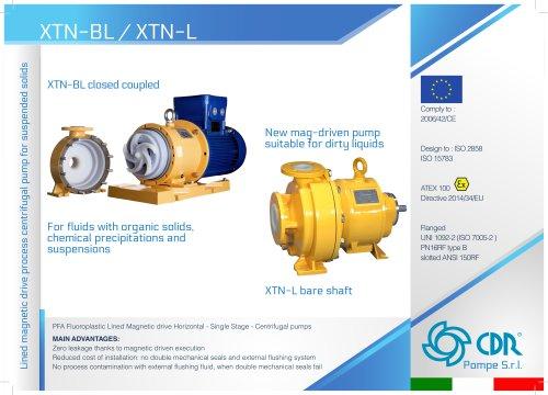 XTN - Magnetic Drive Solids Handling Pump