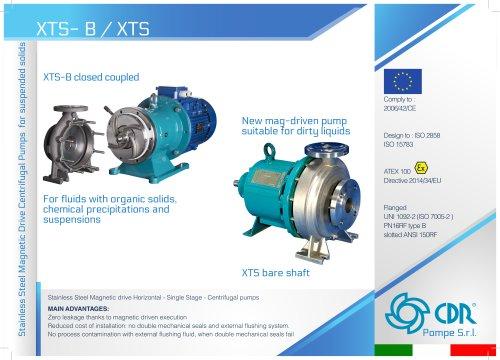 XTS - Magnetic Drive Solids Handling Pump