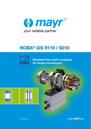 Backlash-free shaft couplings for torque transducers
