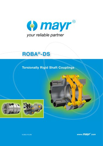 ROBA-DS servo couplings