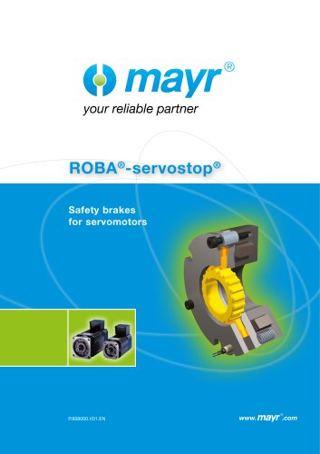 ROBA®-servostop®