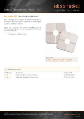 Elcometer 125 - Surface Comparators