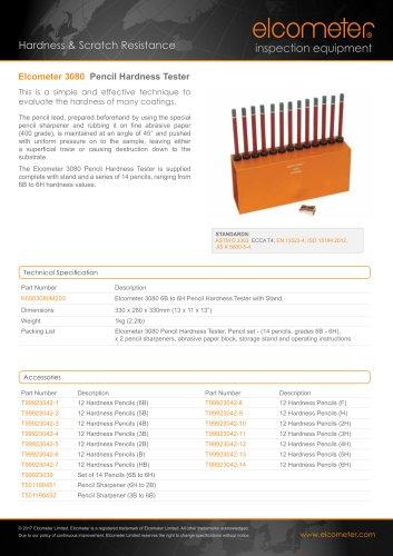 Elcometer 3080 - Pencil Hardness Tester