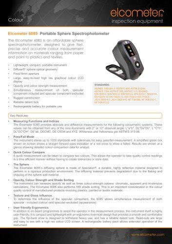 Elcometer 6085 - Portable Sphere Spectrophotometer