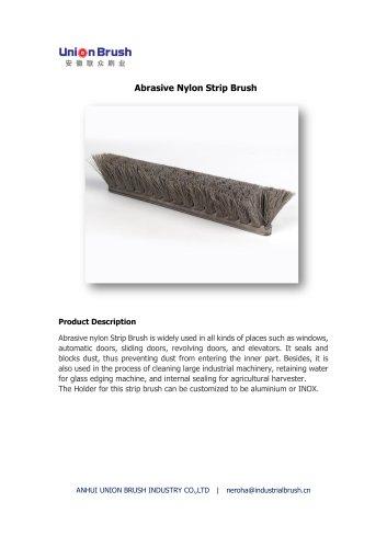 Abrasive Nylon Strip Brush