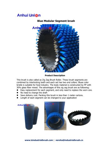 Blue Modular Segment Brush