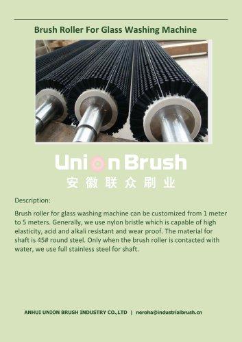 Brush Roller For Glass Washing Machine