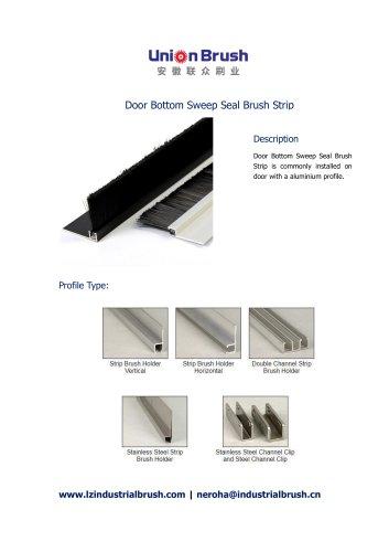 Door Bottom Sweep Seal Brush Strip