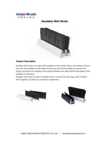 Escalator Skirt Brush
