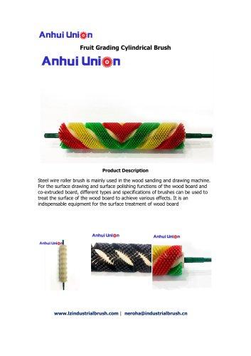 Fruit Grading Cylindrical Brush