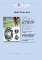 Knotted Weeder Brush
