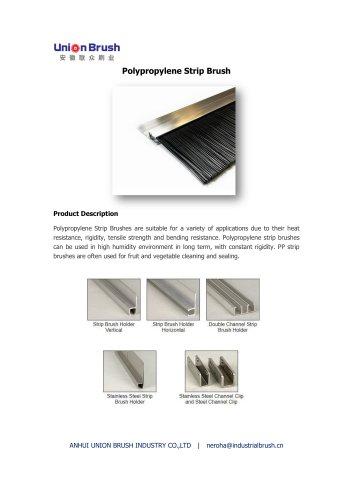 Polypropylene Strip Brush