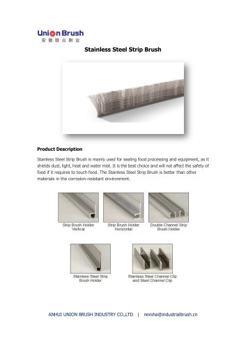 Stainless Steel Strip Brush