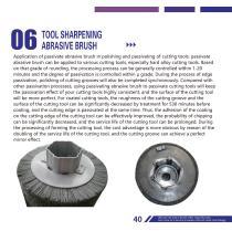 Tool Sharpening Abrasive Brush