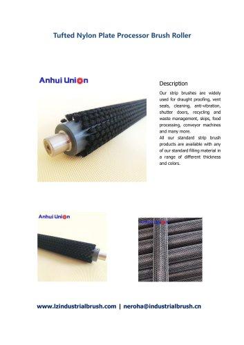 Tufted Nylon Plate Processor Brush Roller