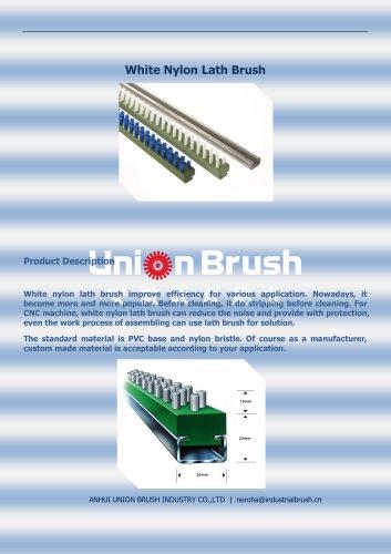 White Nylon Lath Brush