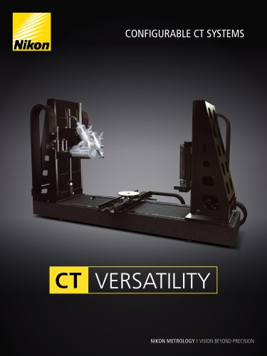Configurable X-ray CT systems