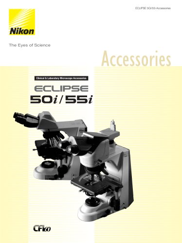 Eclipse 50i/55i Accessories - Nikon Metrology - PDF Catalogs