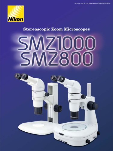 stereomicroscope SMZ1000