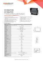 CV-ML072Q / CV-ML072S Mobile Monitor