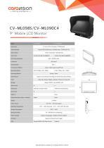 "CV-ML090C4/CV-ML098S 9"" LCD Mobile Monitor"