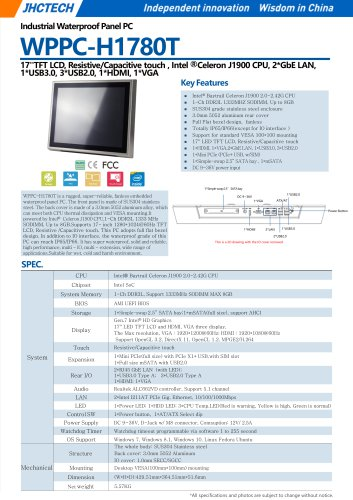 WPPC-H1780T