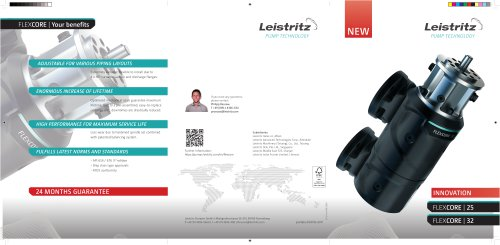 Leistritz Pump Technology: Flexcore Series Flyer