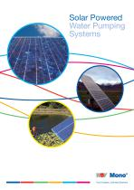 Solar Powered Water Pumping Systems