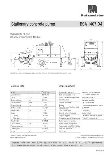 BSA 1407 D5