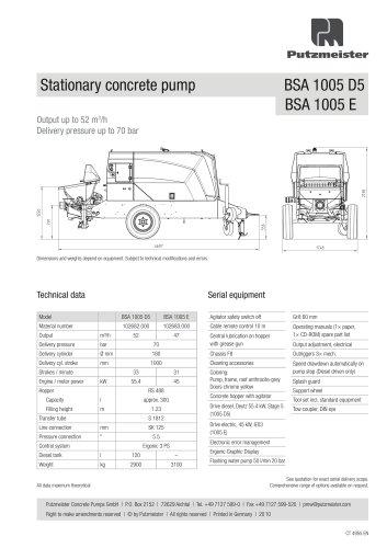 BSA1005 D5 E Data Sheet EN