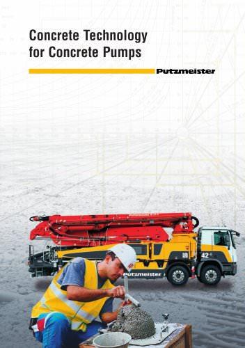 Concrete Technology for Concrete Pumps