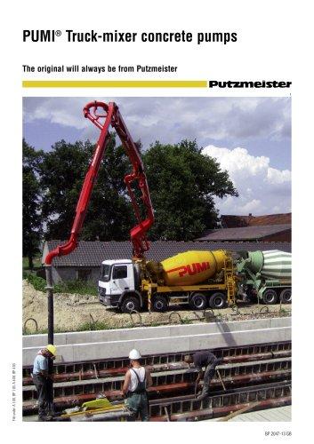 PUMI® Truck-mixer concrete pumps