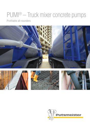 PUMI - truck mixer concrete pumps