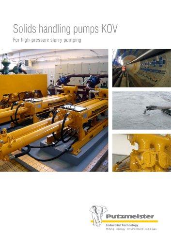 Solids handling pumps KOV