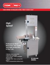 High Speed Stainless Steel Meat Band Saw ST305SH