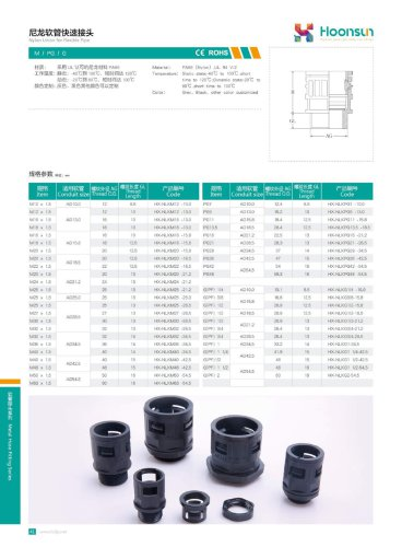 Nylon Union For Flexible pipe HX-NLK