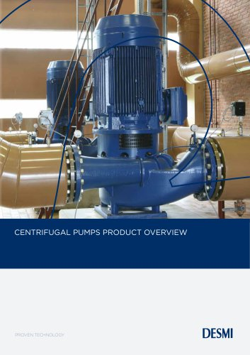 Centrifugal pumps product overview