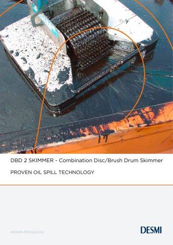 DBD 2 SKIMMER - Combination Disc/Brush Drum Skimmer