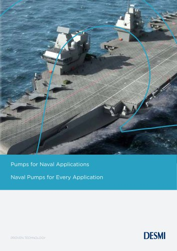 Pumps For Naval Applications