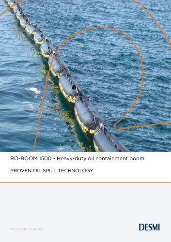 RO-BOOM 1500 - Heavy-duty oil containment boom
