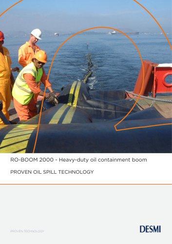 RO-BOOM 2000 - Heavy-duty oil containment boom