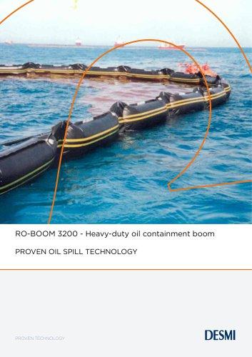 RO-BOOM 3200 - Heavy-duty oil containment boom