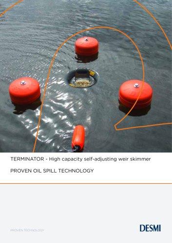 TERMINATOR - High capacity self-adjusting weir skimmer