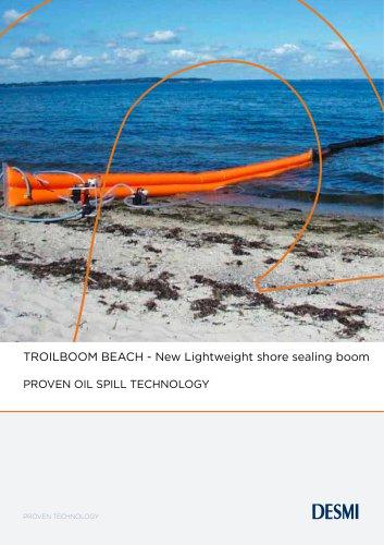 TROILBOOM BEACH - New Lightweight shore sealing boom
