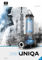 UNIQA High efficiency submersible electric pumps
